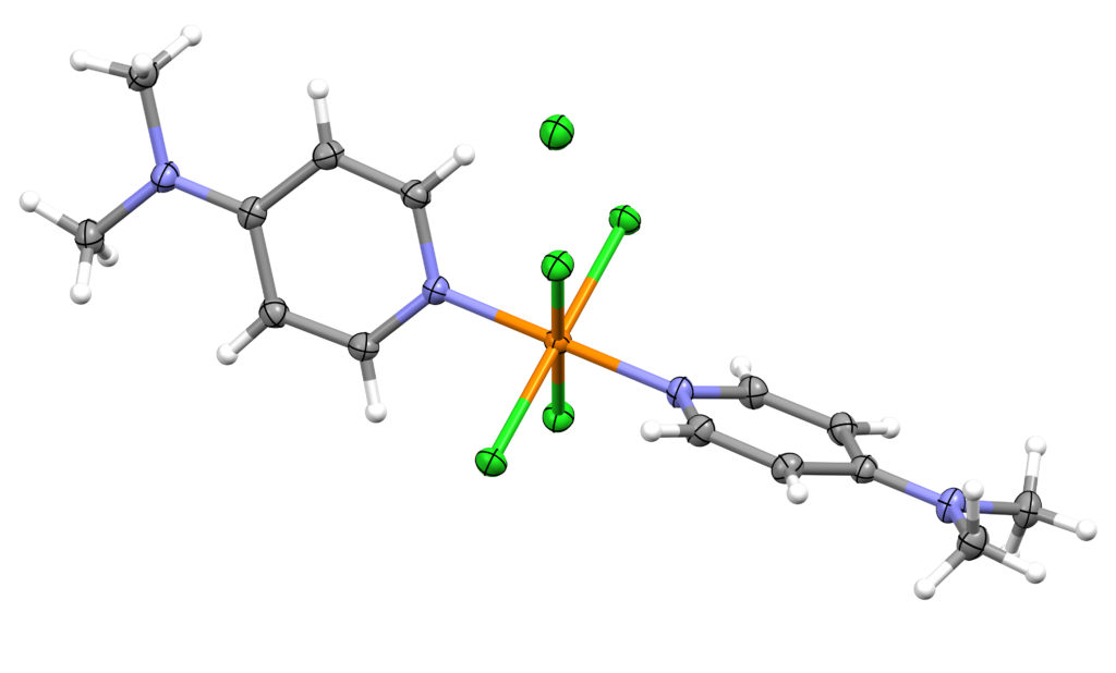 A molecular variant of phosphorus(V) pentachloride. Two 4-dimethylaminopyridine moieties are bonded to the phosphorus atom.