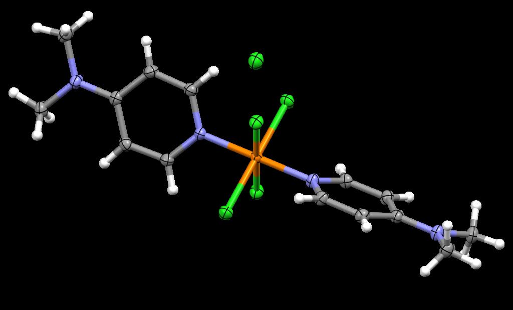 A molecular variant of phosphorus(V) pentachloride. Two 4-dimethylaminopyridine moieties are bonded to the phosphorus atom.